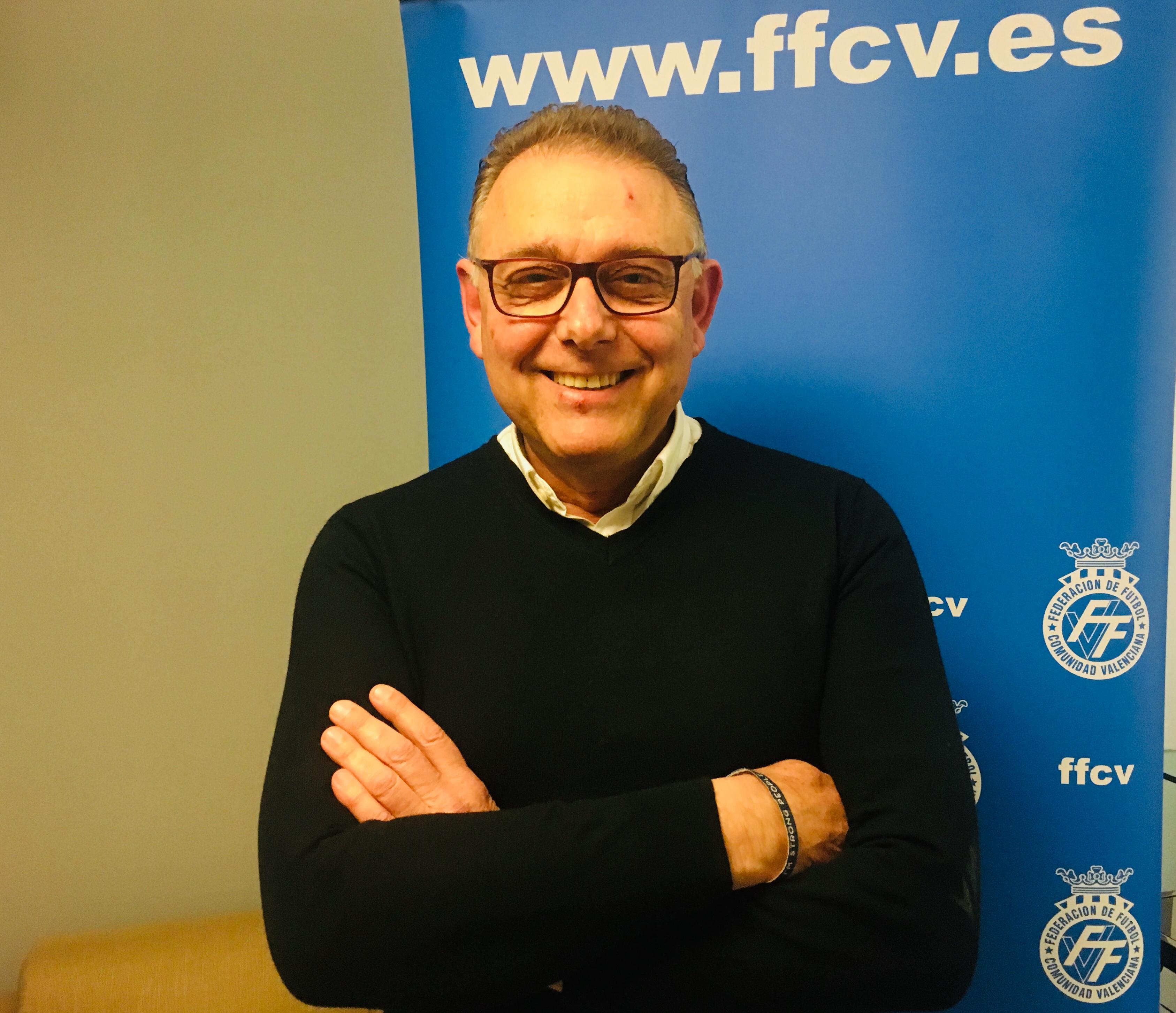 José Enguix, nuevo presidente del Comité Técnico de Árbitros de la FFCV