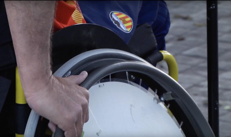 fútbol en silla de ruedas A-Ball