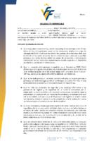 1.- Declaración Responsable jugadores y técnicos COVID-19