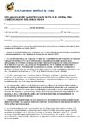 Documento de Confidencialidad (personas autorizadas)