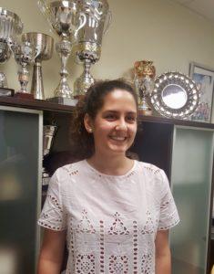 Patricia Tórtola, en el Comité de Árbitros de Valencia