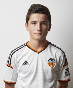 02.10.2014, Paterna, Spain. Foto Oficial equipos Valencia CF.