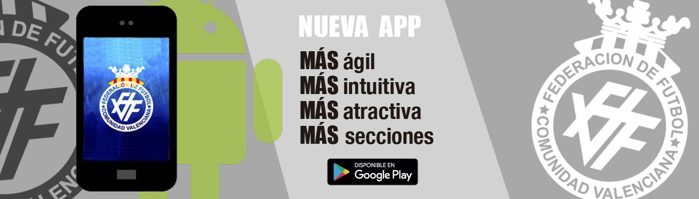 nueva app ANDROID