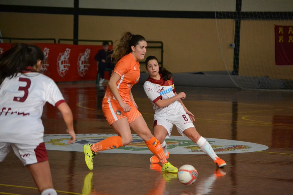 Selección Valenciana sub17 Fútbol Sala femenina - Partido contra Murcia - Campeonato Nacional Selecciones Autonómicas Archena, Murcia