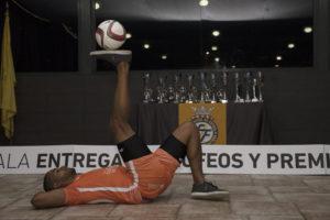 Juanan Lozano, en la Gala Futsal FFCV de Castelló - Free Style