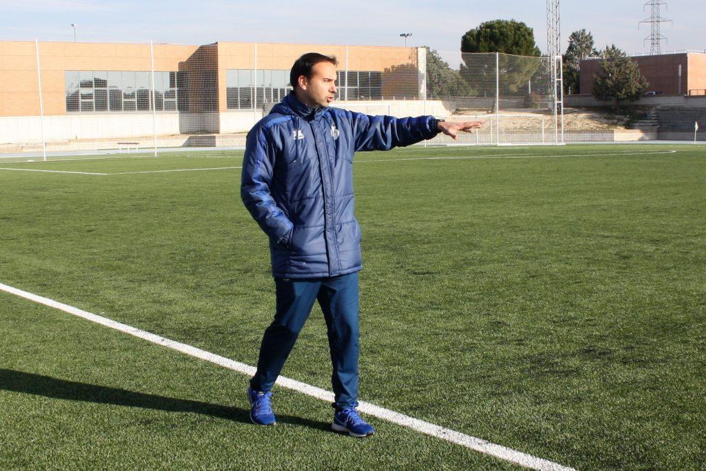 Santi Triguero, seleccionador valenciano sub21