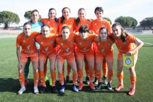 Selección Valenciana femenina sub17 en el último CNSA jugado en Madrid