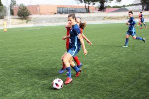 Lara Sánchez, capitana de la Selección Valenciana sub17