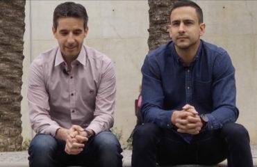 Carlos Rabadán y Pablo Delgado durante entrevista FFCV
