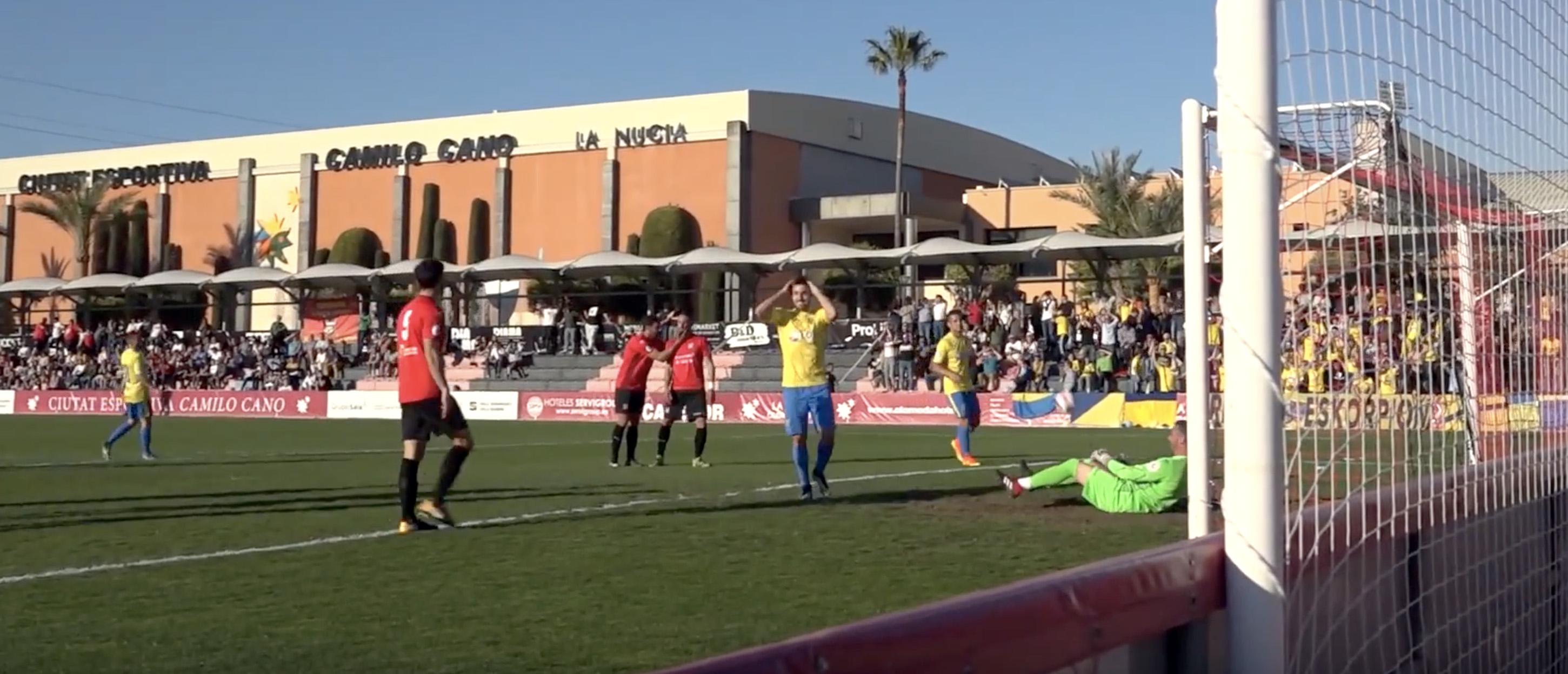 Orihuela CF no consegue el récord de victorias contra La Nucía CF