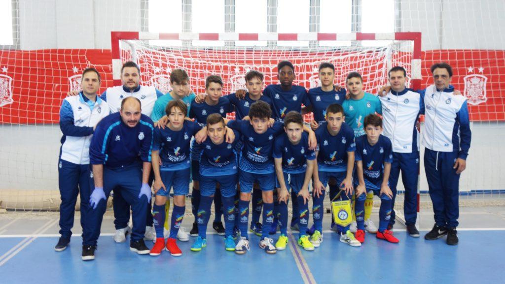 Selecció Valenciana sub14 Futsal vs Extremadura