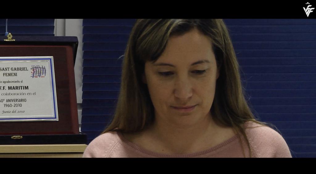 Sonia Torres, presidenta del CFF Marítim, en #Vazlenta