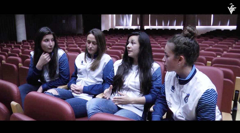 Cristiba Cubedo, Andrea Palacios, Lucía Gómez y Alejandra Serrano analizan la situación de la mujer en el fútbol en el reportaje #VALENTA de FFCV