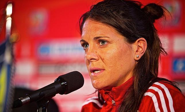 Ruth García con Selección Española