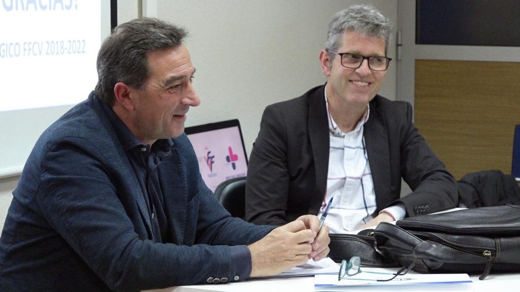 Salva Gomar y Juan Serrano