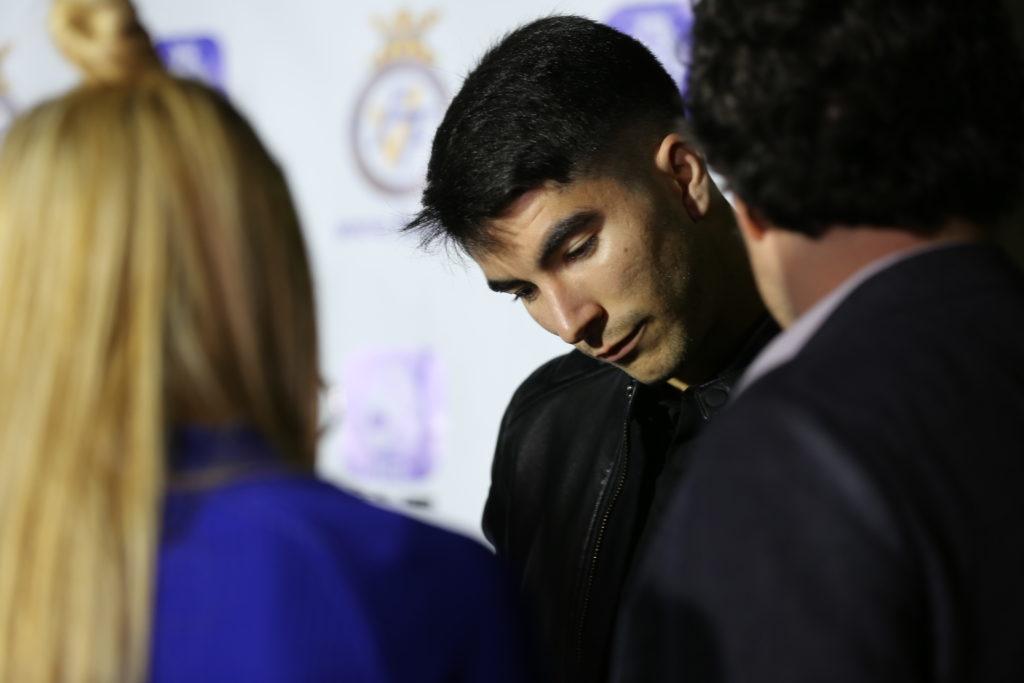 Carlos Soler en la Gala de la FFCV 17/18