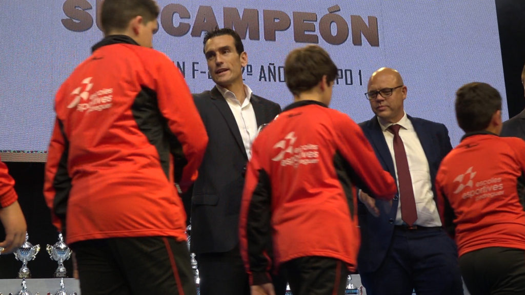 Juan Martínez Munuera en Gala Premios Alicante FFCV