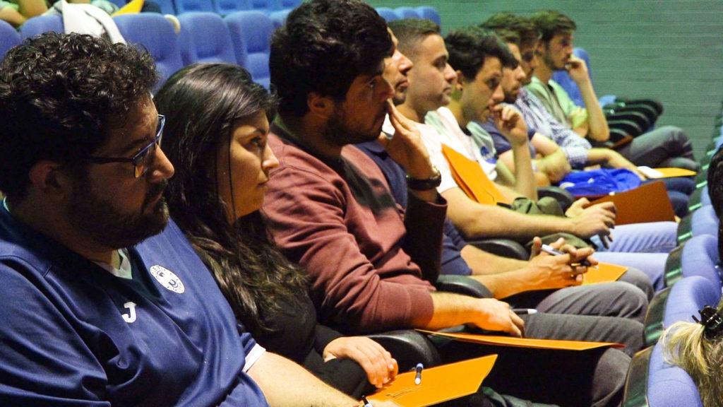 Ponencia Joaquín Sorribas y Xavi Oliva en El Pilar - Comité Técnico Entrenadores FFCV