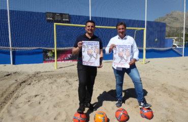 10 mayo - Bernabé Cano y Salva Gomar presentan la Liga Nacional de Fútbol Playa