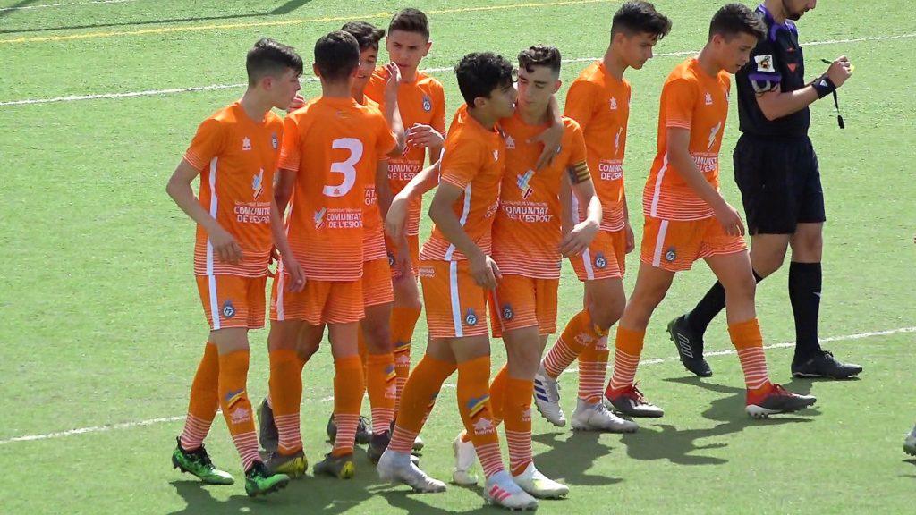 22 mayo - Selecció Valenciana sub14 masculina contra Castilla La Mancha