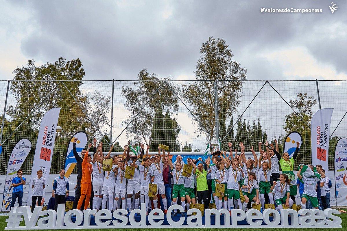 Andalucía gana Campeonato España sub12 Valores de Campeonæs