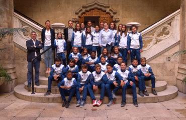 21 mayo - Visita Selecció Valenciana sub12 a la Diputació de València