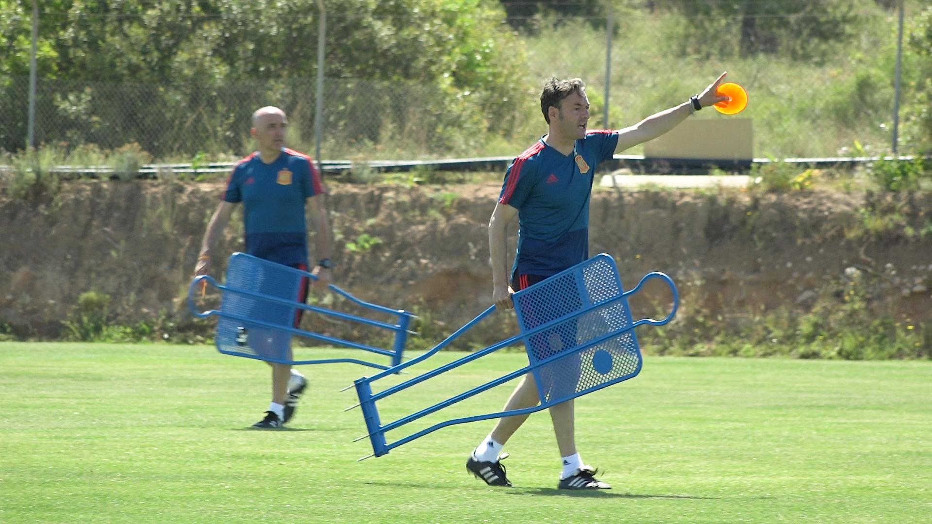 27 mayo Santi Denia en El Albir Selección Española sub19