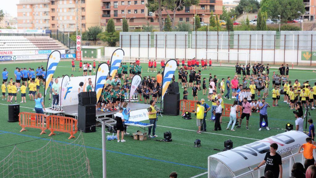 22 junio - Entrega Trofeos futbol base Castelló en Onda