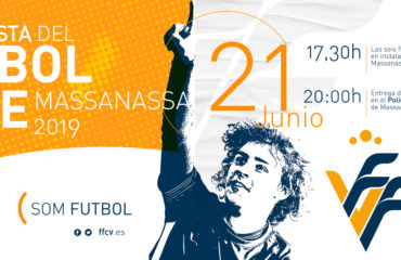 Cartel Copa Campeones F8 Massanassa Fiesta del Fútbol Base de Valencia