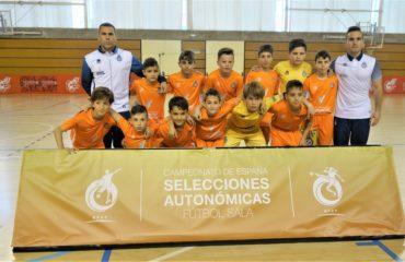 Selección valenciana sub 12 fútbol sala 18/19