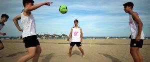 09 junio- Clinic Fútbol Playa en la Patacona