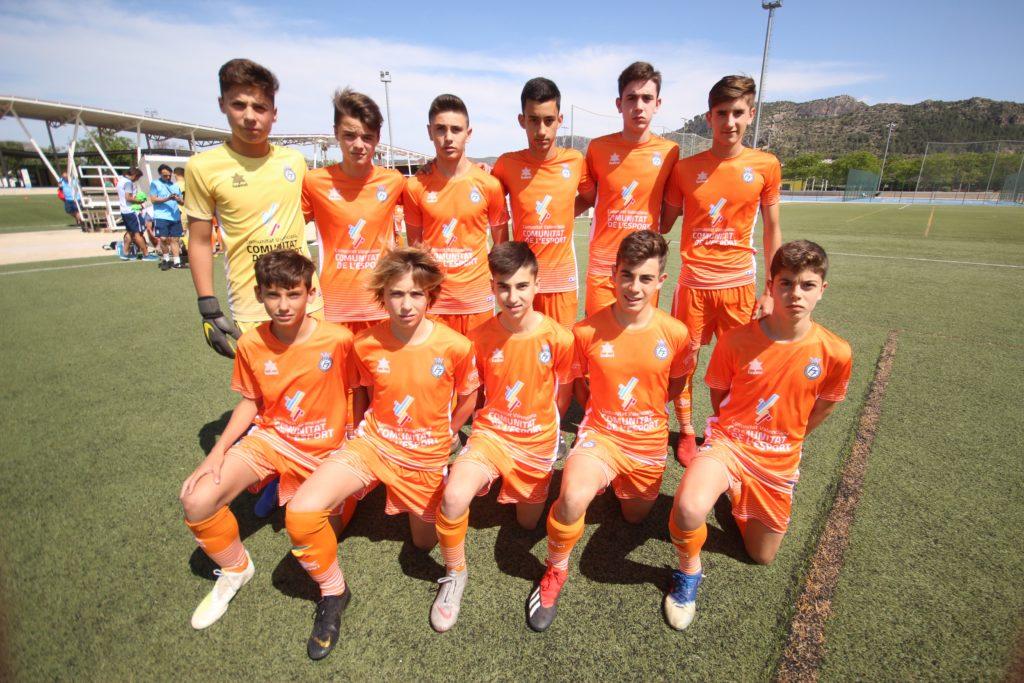 05 junio- La selección valenciana sub14 se impuso de nuevo a Castilla-La Mancha