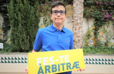 11 junio- Presentación campaña 'Fes-te àrbitre' con Jorge Aura