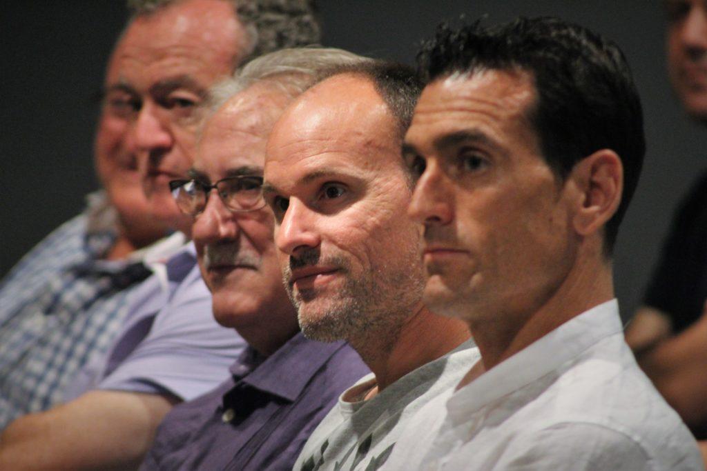27 junio - Juan Martínez Munuera y Antonio Mateu Lahoz en charla Velasco Carballo en Valencia