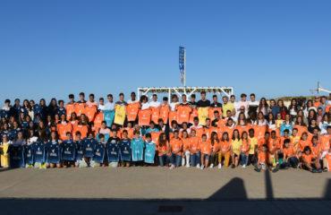 Todos los jugadores de la Selecció Valenciana 18-19 Día de la Selecció