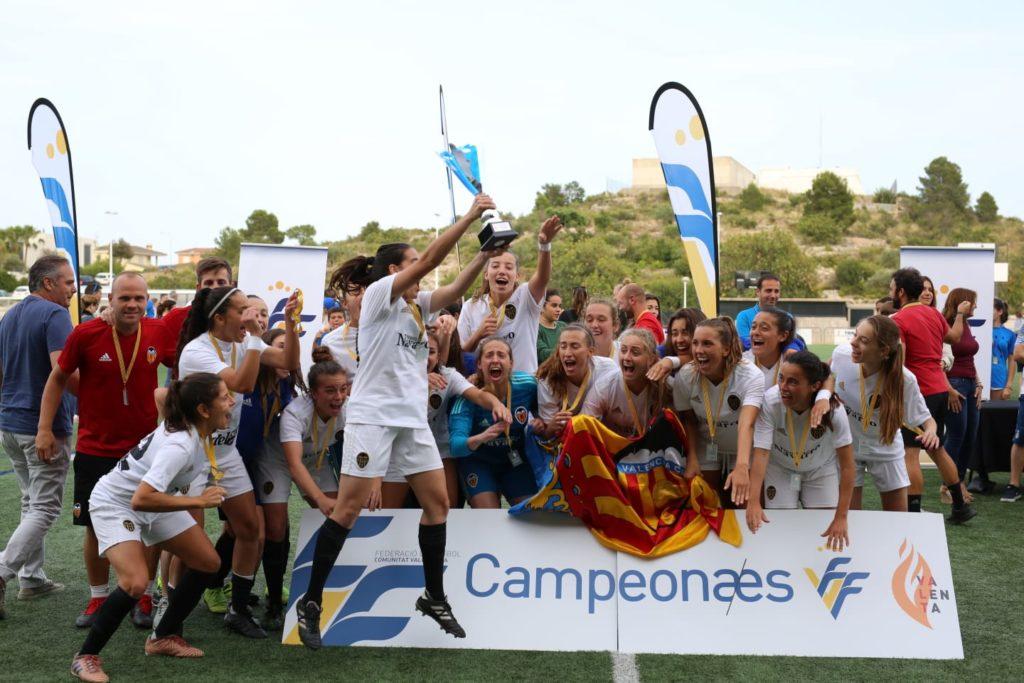 08 junio - El Valencia CF gana la Copa FFCV vs Levante en Ribarroja