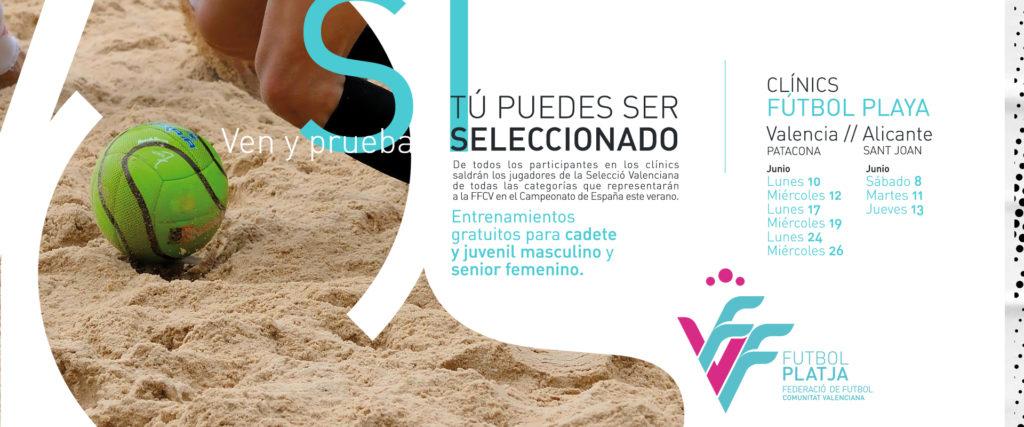 Calendario de Clinics Fútbol Playa verano 2019