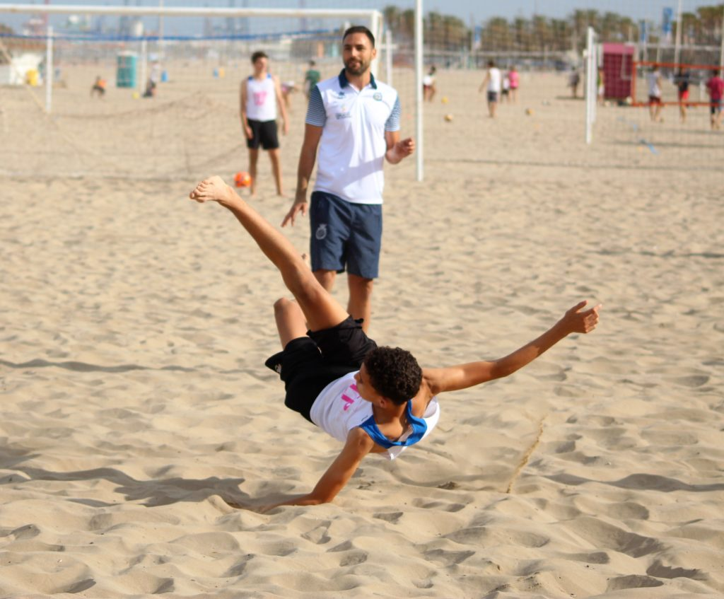 10 junio- Clinic Fútbol Playa en Patacona