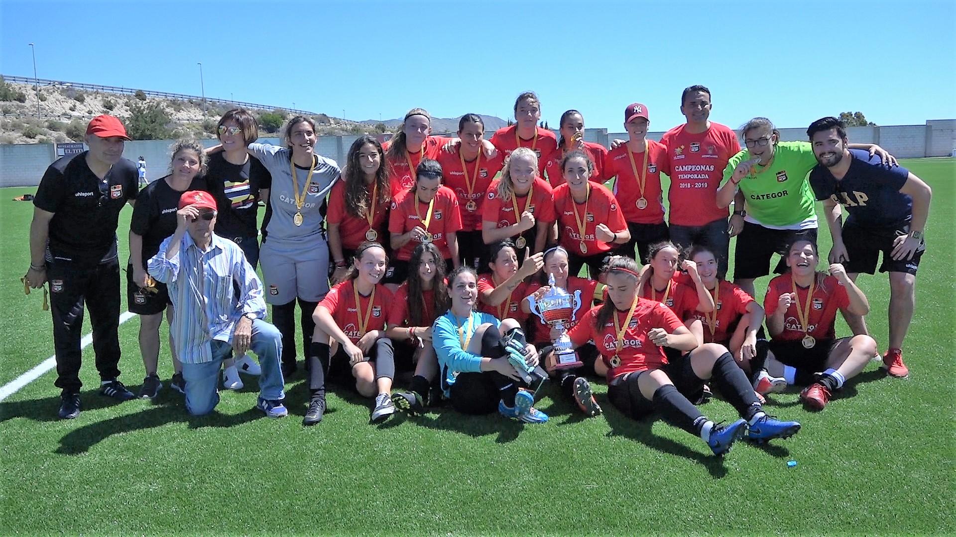 01 junio - CF La Nucía gana la Copa FFCV