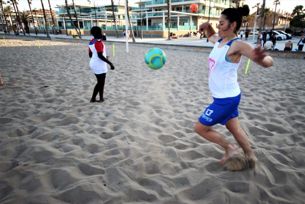 10 junio- Clínic Fútbol Playa en Patacona