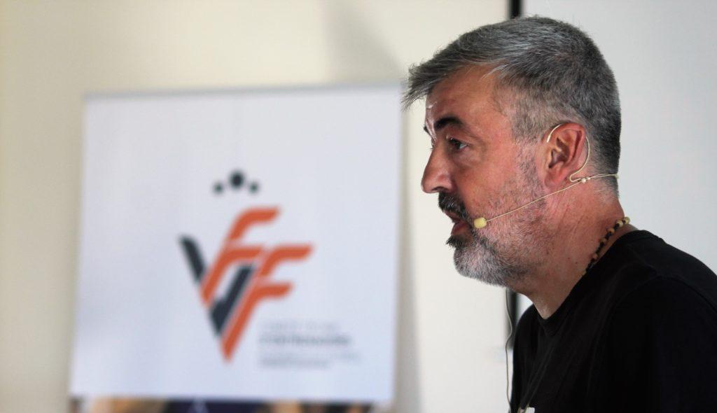 29 junio- Óscar Fernández en el Campus de Entrenadores