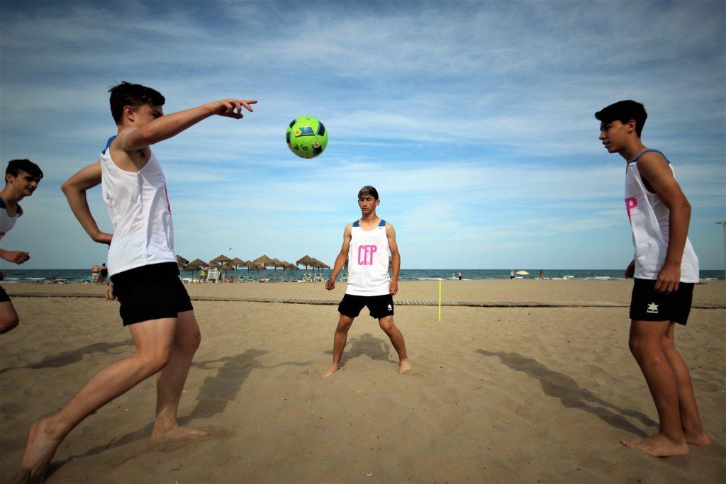 Clínic de Fútbol Playa en La Patacona