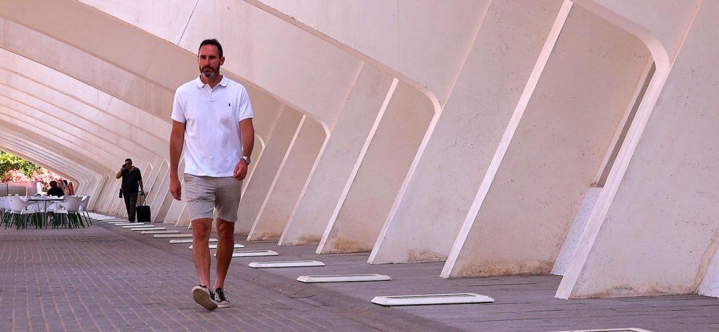 Vicente Moreno, entrenador del RCD Mallorca