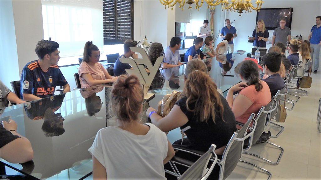 10 julio- Visita jóvenes JOOP del IVAJ a la FFCV