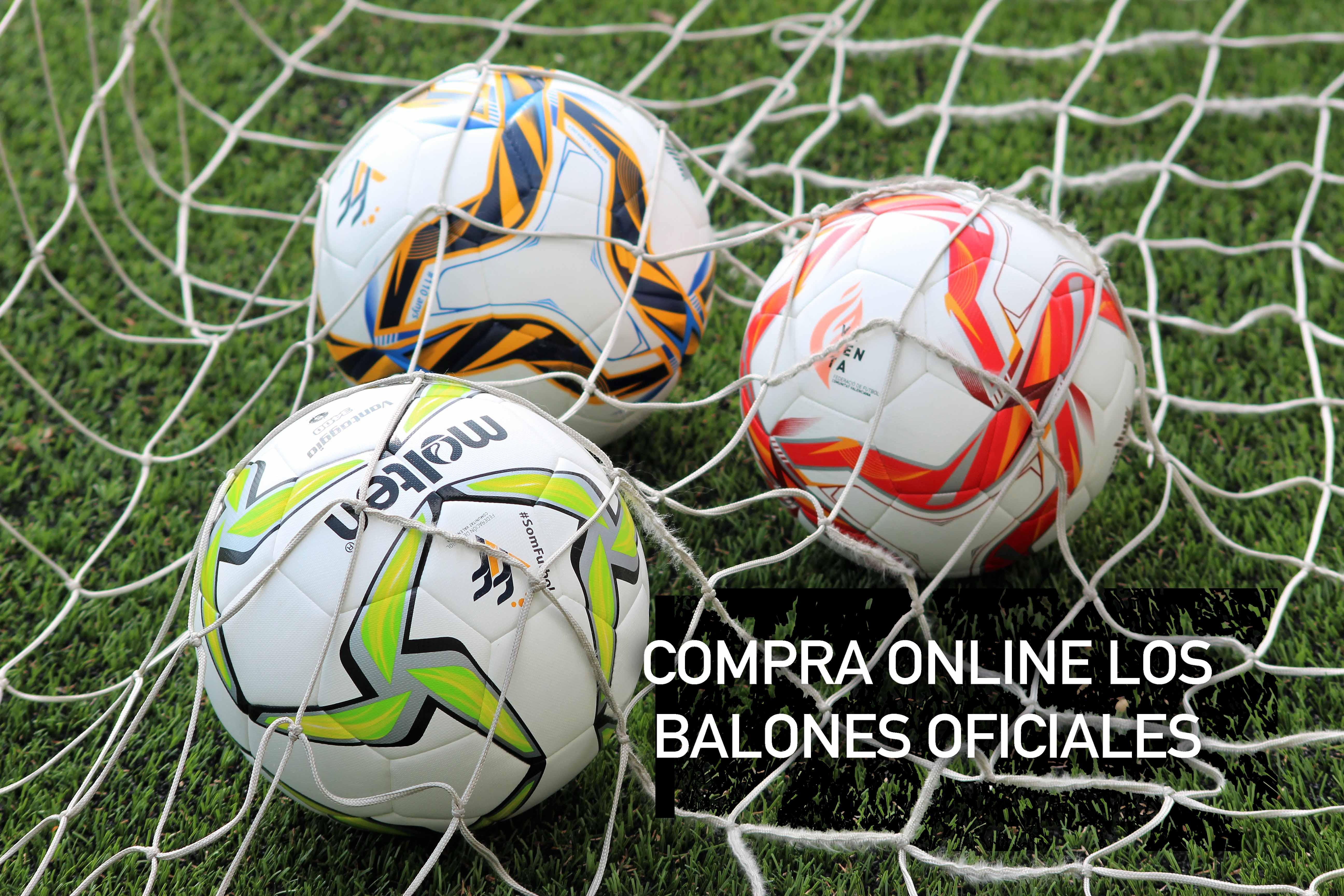 Compra online balones oficiales FFCV