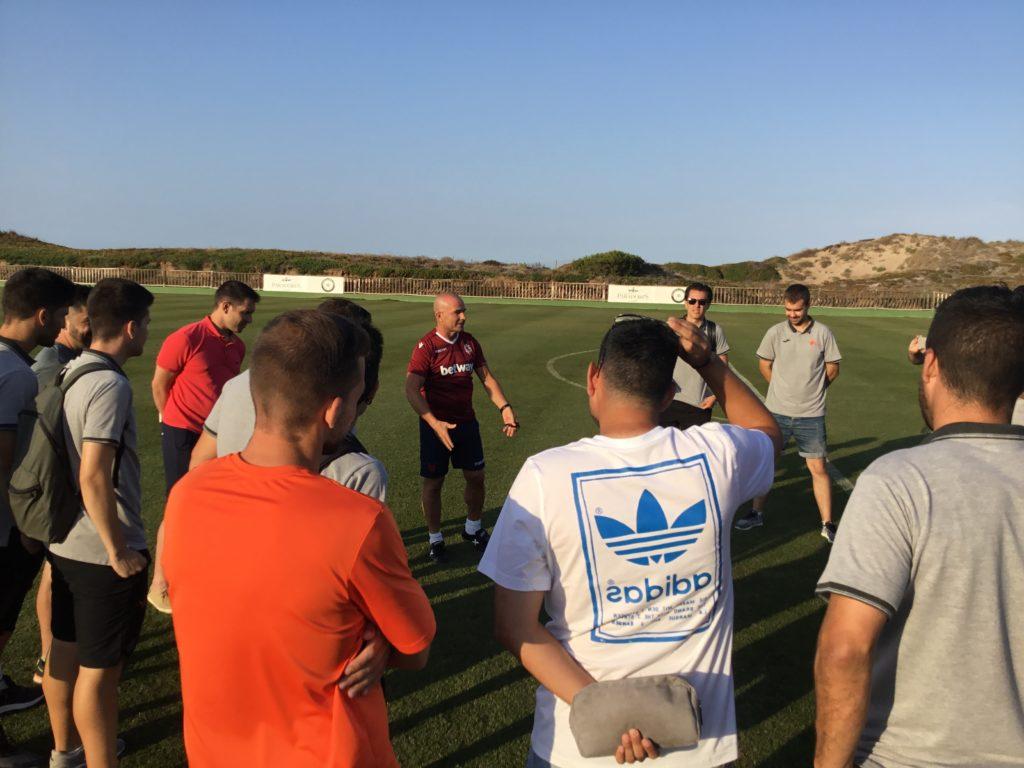 18 JULIO - Visita entrenadores a Paco López