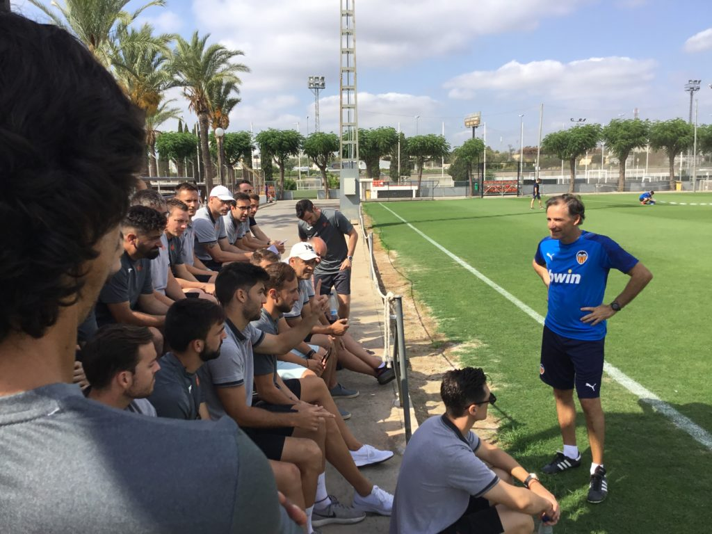 19 julio - Visita entrenadores a Chema Sanz