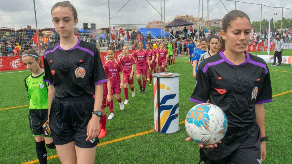 3 mayo- Árbitras en Campeonato de España sub 12