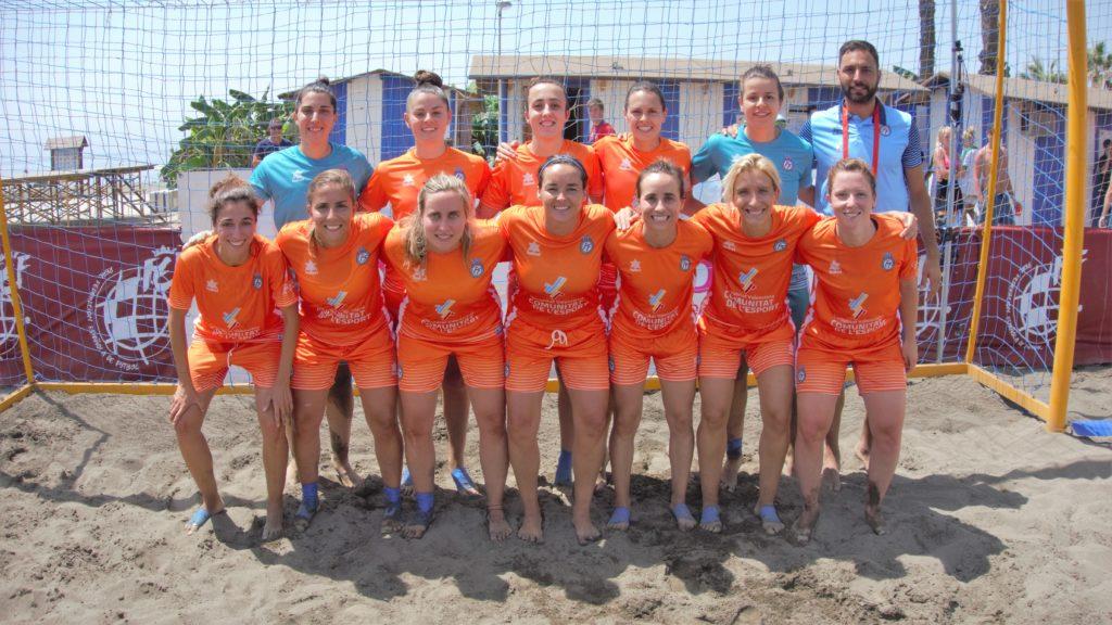 20 julio - Campeonato Nacional Femenino Fútbol Playa