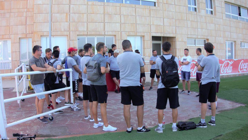 23 julio - Visita Curso Entrenadores al Villarreal CF